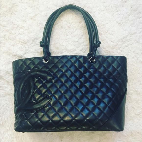 CHANEL Handbags - Chanel Cambon Tote de1d82c0aebe8